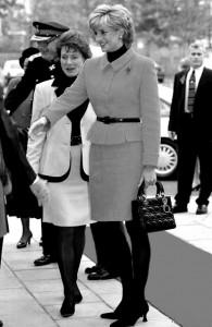 Lady Diana e a Lady Dior
