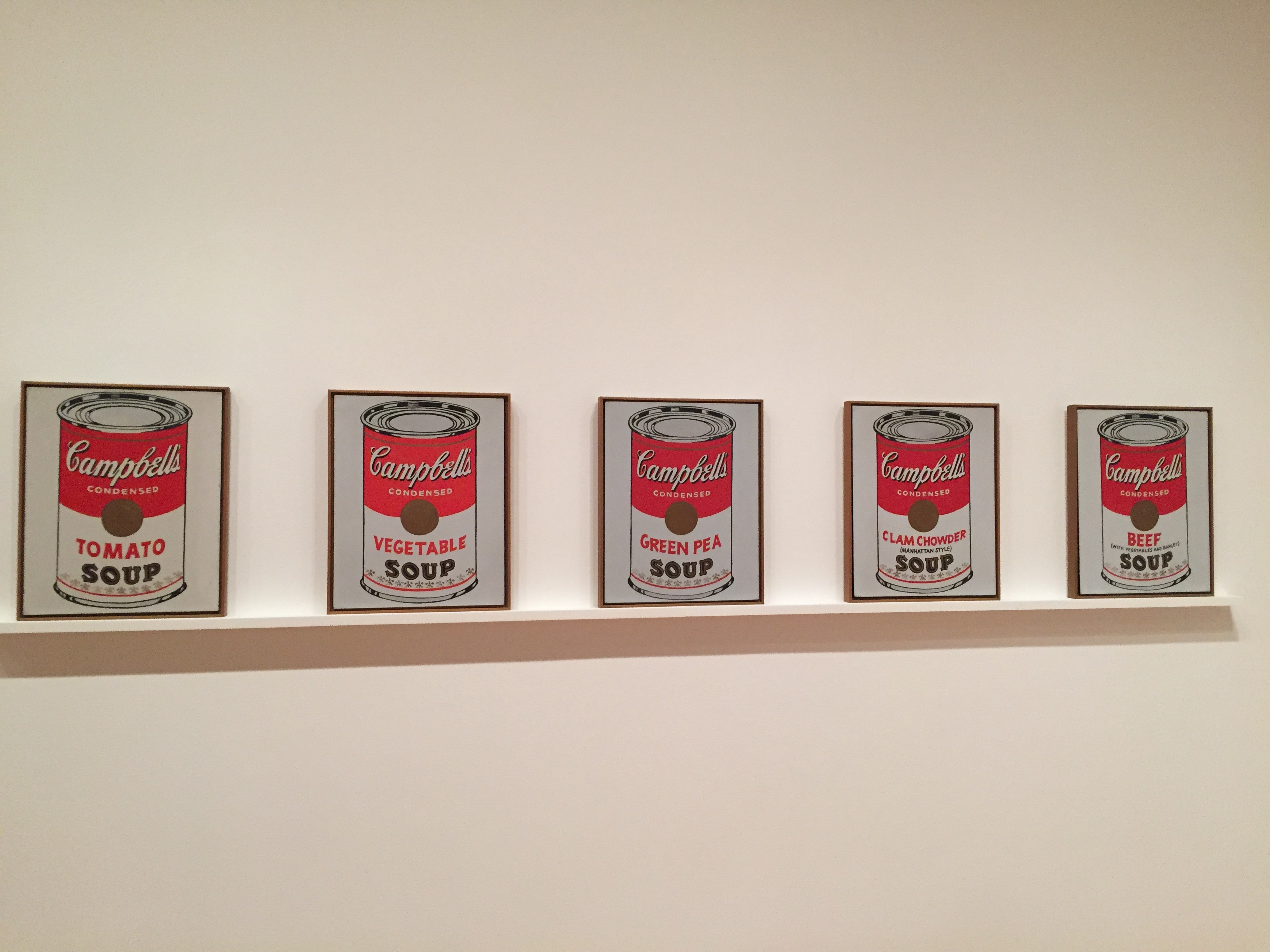 Campbell's Soup Cans - Acervo MoMa